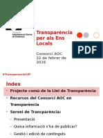 Transparencia AOC 201603 Presentacio Espai Transparencia
