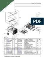 SCX-4727FD Part Catalog