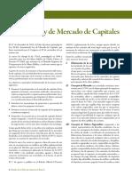 Conceptos Básicos - ley mercado de capitales