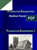 Shallow Foundation 1