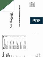 Orbit Actuator Diaphragm Type IOM