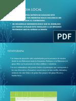 DIAPOSITIVAS PARA GEOLOGIA LOCAL QUINUA SOCOS