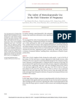 The Safety of Metoclopramide Use