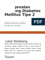 Pengenalan Tentang Diabetes Mellitus Tipe 2