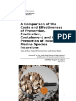 Comparison Costs Effectiveness Prevention