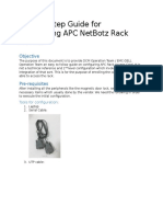 Step by Step Guide for Configuring APC Netbotz Rack Access