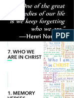 7 Who We Are in Christ