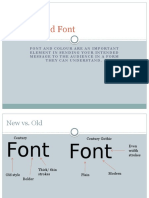 Colour and Font