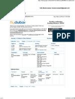 E_Ticket to Baku Azebaijan
