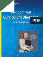 GED Curriculum Blueprint