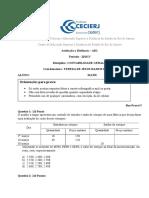 AD1 Contabilidade Geral II 2015.1