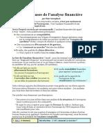 Les Bases de l'Analyse Financière