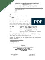 Proposal Konferensi Dan Raker HMJ Manajemen