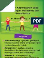 Askep Marasmus Da Kwasiokhor