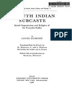 A South Indian Sub Caste