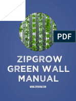 ZipGrow GreenWall Manual 5.7