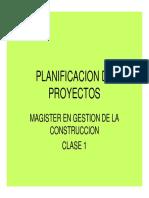 Proceso de Planificación y Desglose