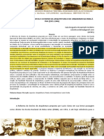 Artigo-A Reforma Lucio Costa e o Ensino Da Arquitetura Na Enba