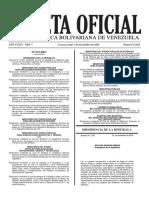 Gaceta Oficial Nº 41.025 - Notilogía