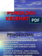 Kuliah Pengantar Psikologi Kesehatan