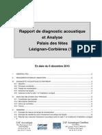 Rapport Diag Acoustique 2af