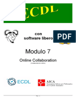 Nuova ECDL - Online Collaboration