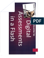 digital assessment in a flash