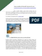 10 Noticias científicas del 2015