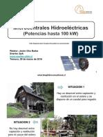 Microcentrales Hidroeléctricas - Taller Microhidro
