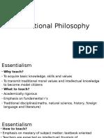 1 Educational Philosphy