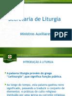 Aprimoramento de Liturgia 2016 - Ministros Auxiliares