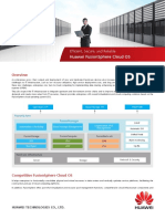 Huawei FusionSphere 5.1 Brochure(Server Virtualization)