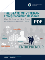 The state of veteran entrepreneurship research
