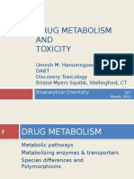 Drug Metabolism and Toxicity