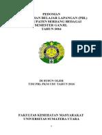 Pedoman PBL Semester Ganjil 2016
