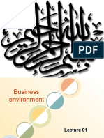 Lecture 1 Business Environment for Print