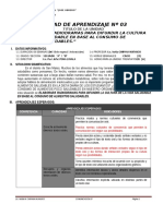 UNIDAD DE APRENDIZAJE COMUNICACION 2° GRADO III BIM 2016