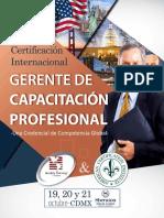 Certificacion Internacional Para Gerentes de Capacitación