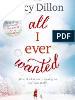 All I Ever Wanted - opening extract