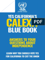 Yes California Calexit Book