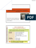 Tema 6. Saneamiento Convencional vs Saneamiento Sostenible
