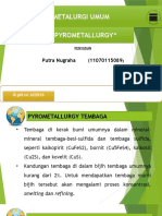 contoh pirometalurgi