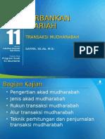 Pertemuan 11 Transaksi Mudharabah