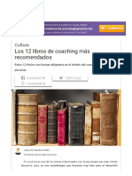 Los 12 Libros de Coaching Más Recomendados