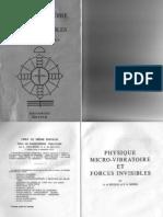 Physique Micro-Vibratoire Et Forces Invisibles