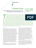 Climate Finance Fundamentals