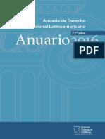 Anuario Latinoamericano de Derecho Constitcional Nro. 22