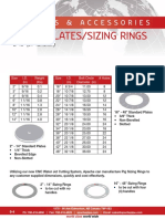 Options Gauge Plates Sizing Rings