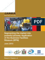 Zambian Business Facilities Measure - ZBS July 2010