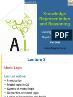 KRR Lecture 3 ModalL